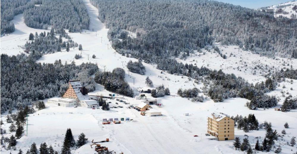 Planul pistelor Zonă de schi Adria Ski / Kupres