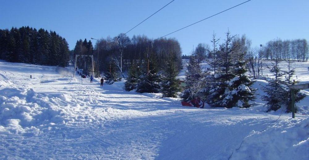 Planul pistelor Zonă de schi Samoty