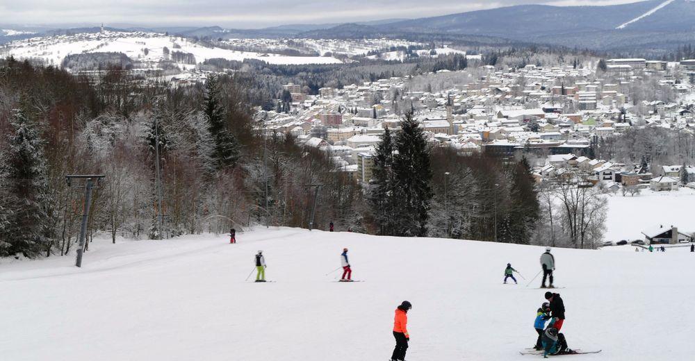 Pistenplan Skigebiet Freyung - Geyersberg