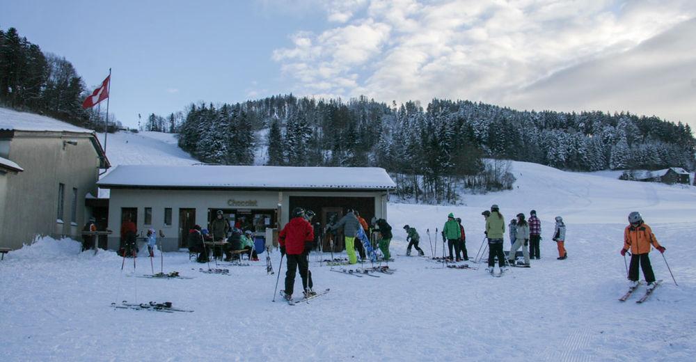 Planul pistelor Zonă de schi Hamberg - Gähwil