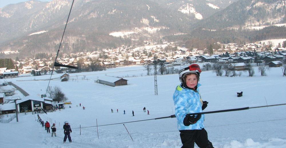Plano de pista Estación de esquí Unterwössen - Balsberg