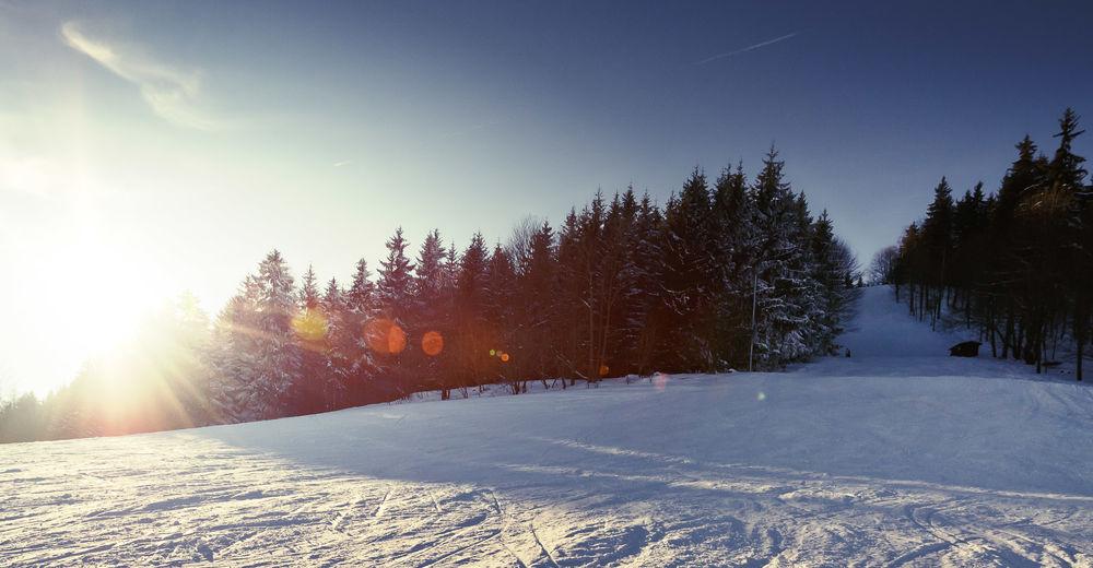 Plán sjezdovky Lyžařská oblast Kreherwiese / Pöhlberg