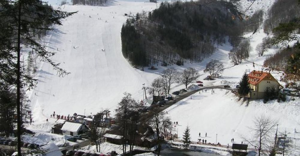 Piste map Ski resort Selce-Čachovo