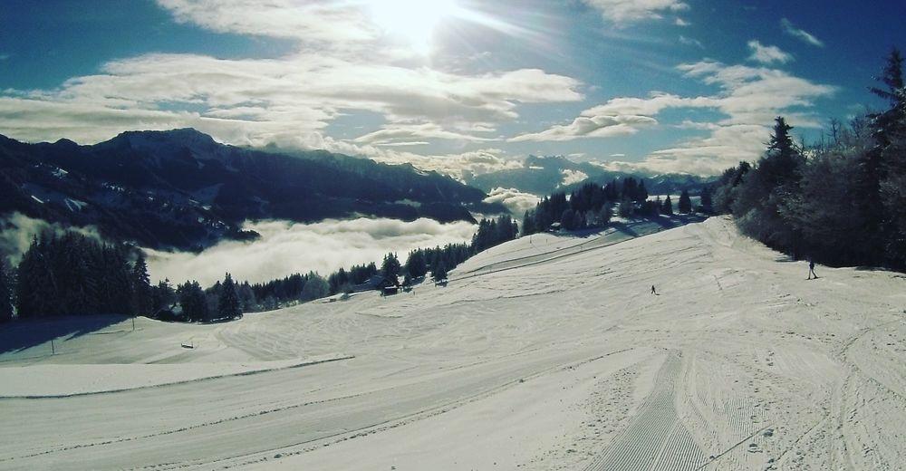 Pistenplan Skigebiet Les Pléiades