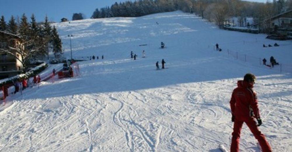 Planul pistelor Zonă de schi Monte Purito - Selvino