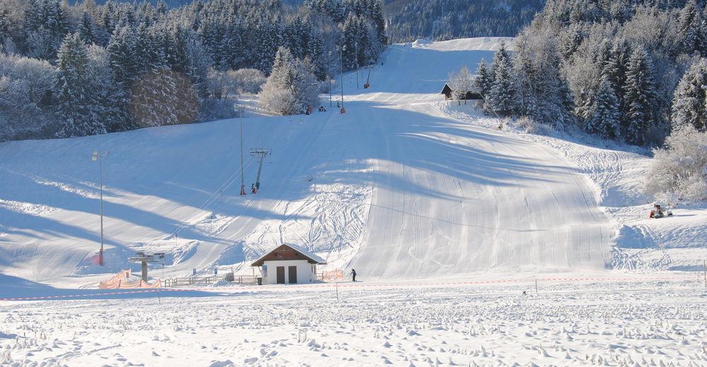 Pisteplan Skigebied Schilift Hrast / Feistritz a.d. Gail