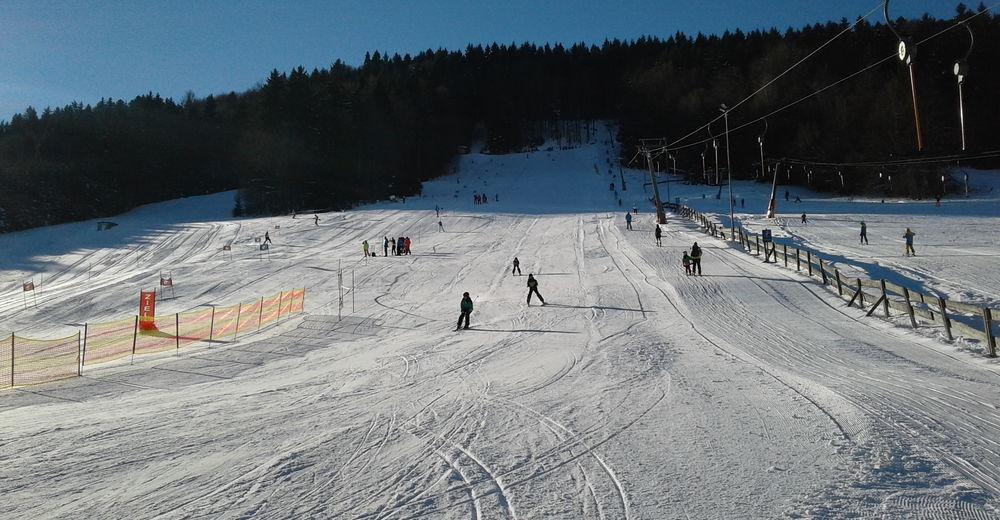 План лыжни Лыжный район Nussbaumer Lifte / Hof bei Salzburg