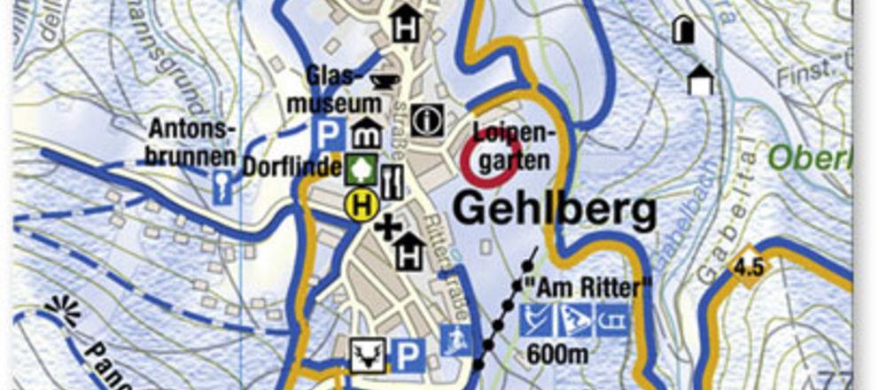 Loipenplan Gehlberg
