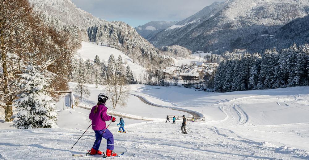 Pistenplan Skigebiet Skilifte Kaiserblick Sachrang - Aschau