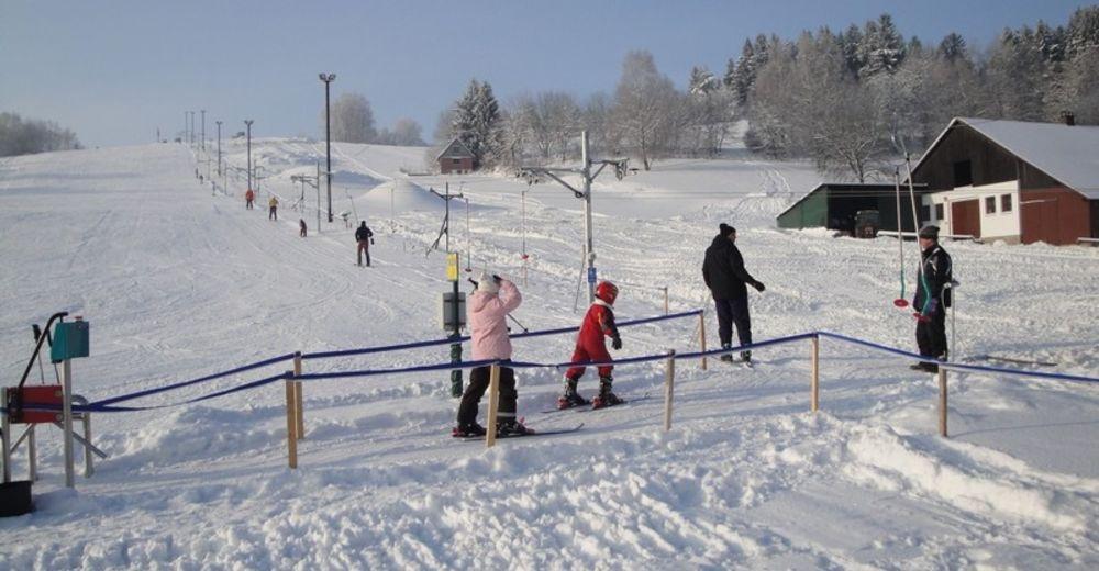 Piste map Ski resort Mrákotín