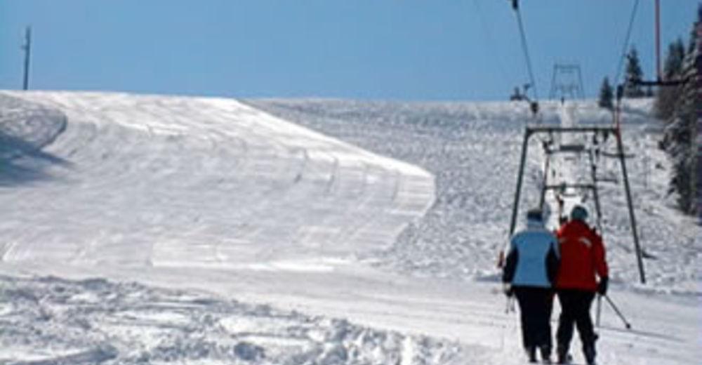 Plan skijaških staza Skijaško područje Hornlift - Fröhnd