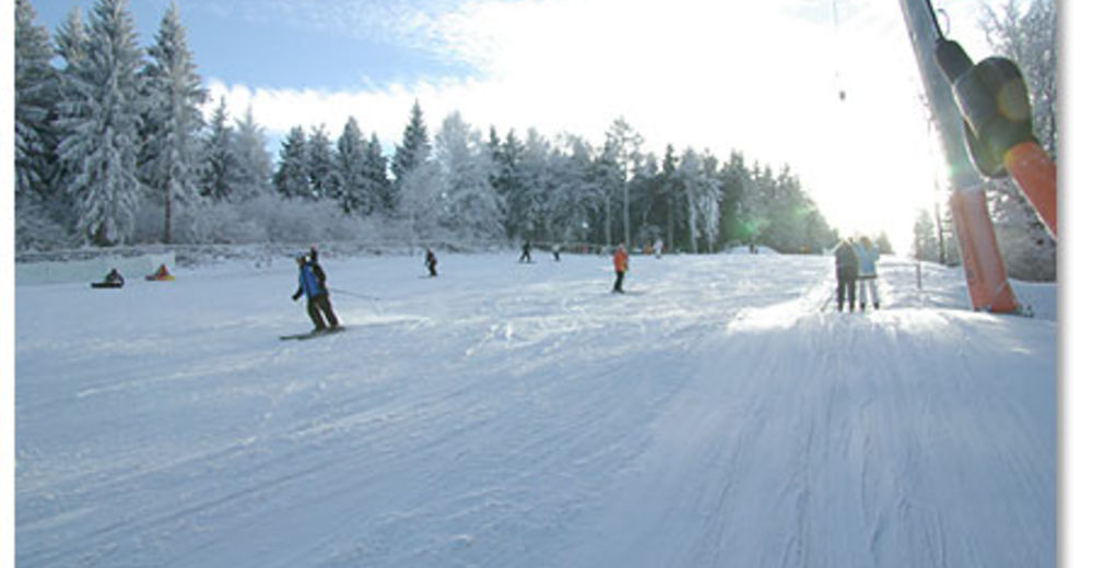 Bakkeoversikt Skiområde Rugiswalde