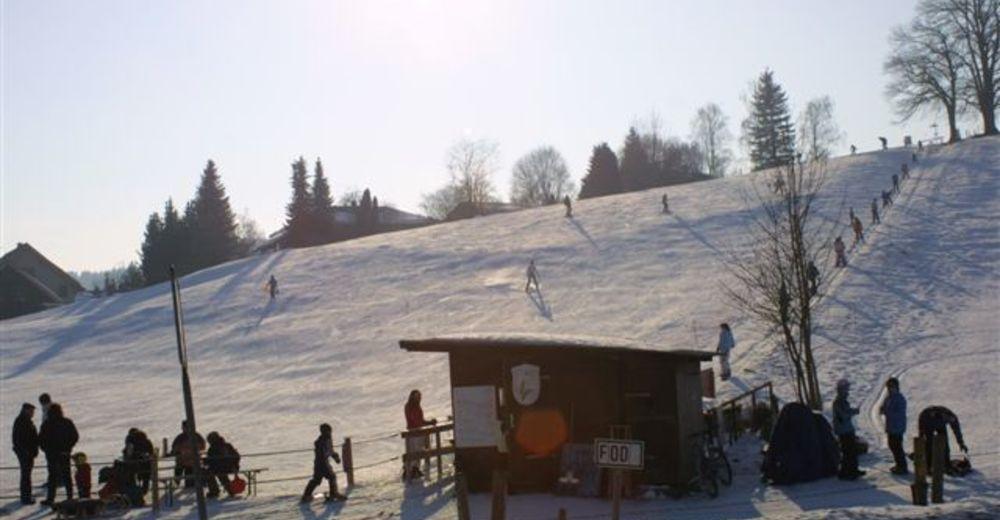 Pistenplan Skigebiet Skilift Moosach am Tranzlberg