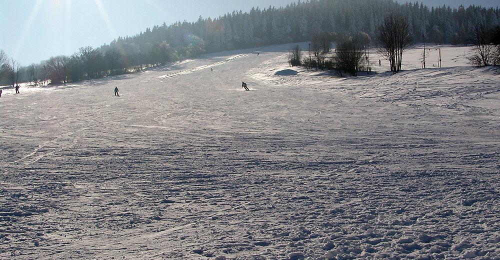 Plan skijaških staza Skijaško područje Geyersdorf