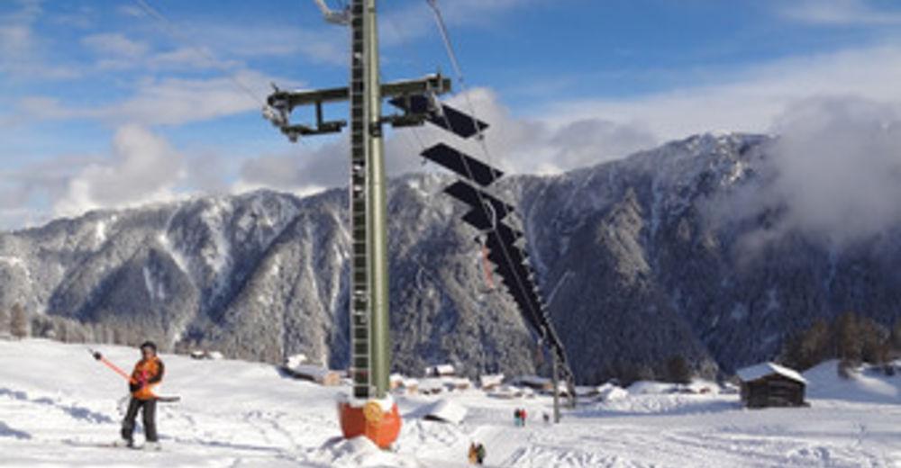 Pistenplan Skigebiet Tenna