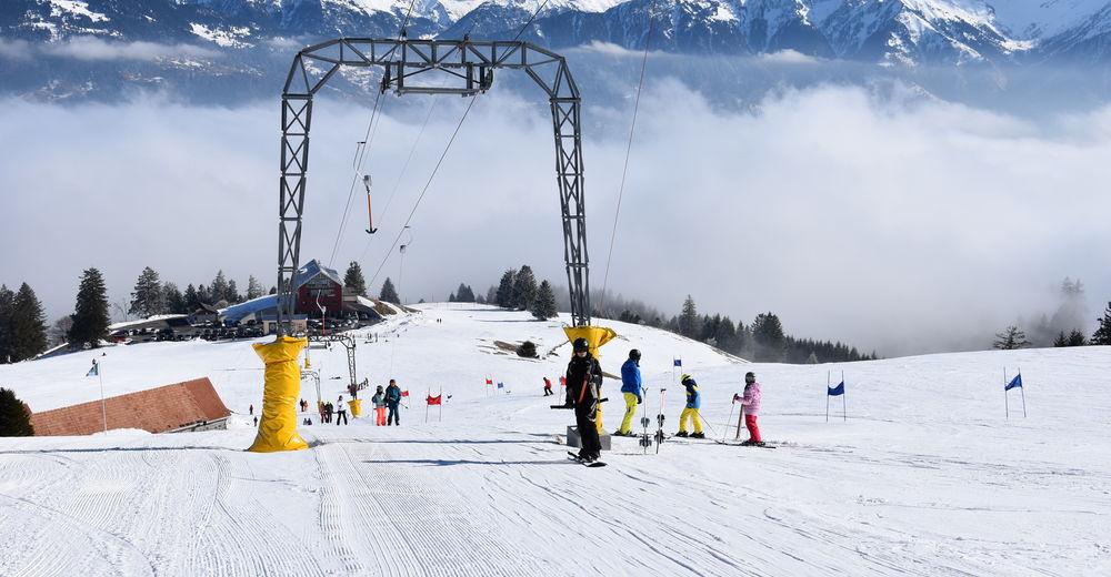 Plan skijaških staza Skijaško područje Skilift Buchserberg-Malbun