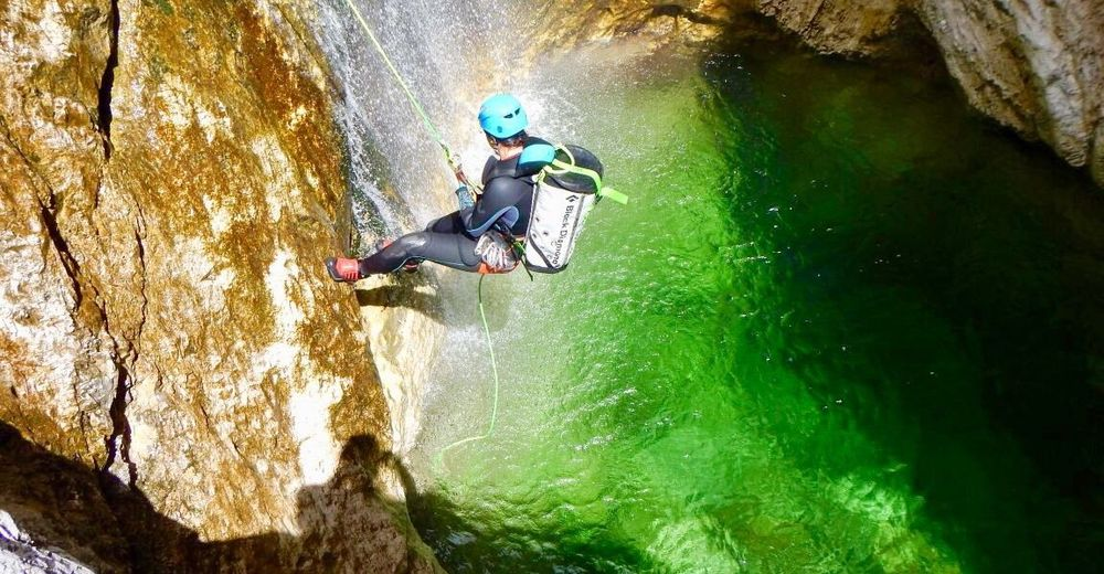Club Aktiv Canyoning - Lofer - Almenwelt Lofer - Excursiones en piragua -  Rafting - Actividades de cañada