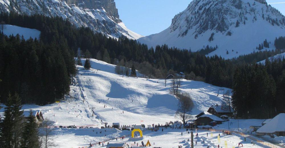Pistenplan Skigebiet Eriz