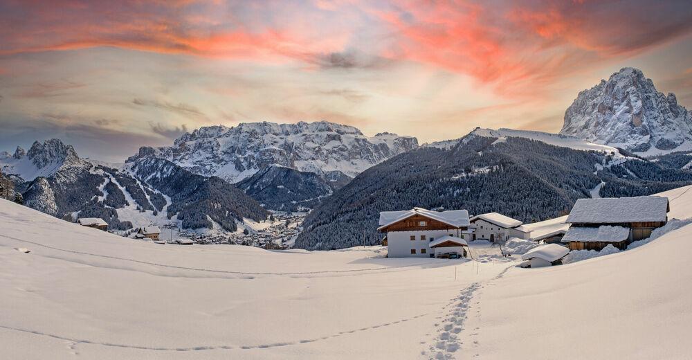 Bergfex Bauernhof Tubla Agriturismo Appartamento Vacanze Bed Breakfast Wolkenstein Groden Selva Di Val Gardena