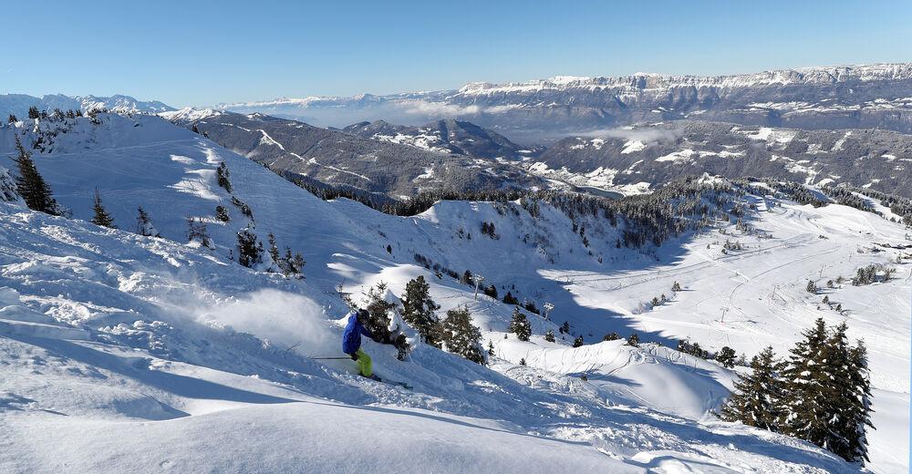 Pistenplan Skigebiet Le Collet d´Allevard