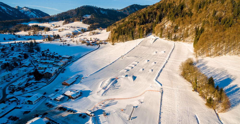 Pistenplan Skigebiet Westernberg / Ruhpolding