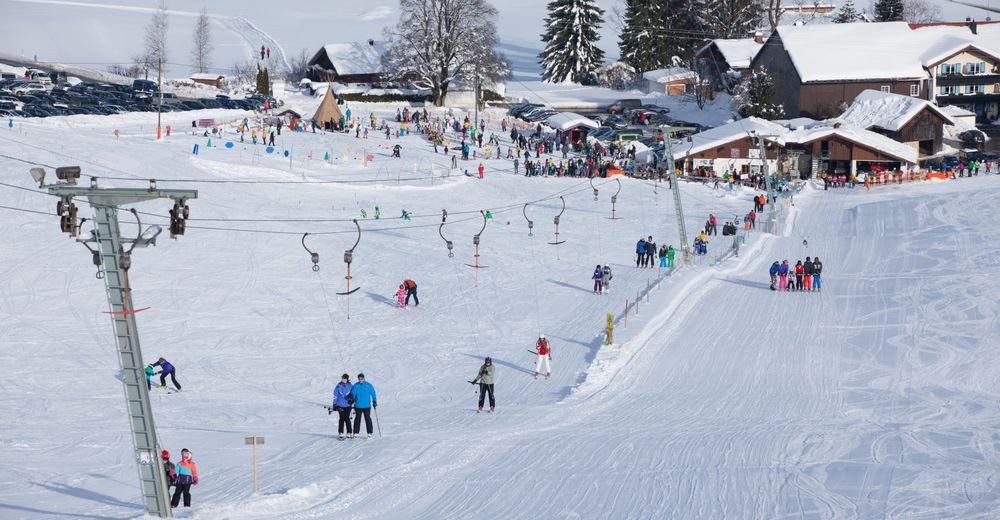 Planul pistelor Zonă de schi Skilifte Sinswang