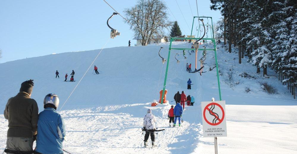 Pistplan Skidområde Skilift Peretseck / St. Johann am Walde