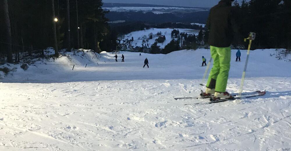 Plan skijaških staza Skijaško područje Kirchberglift / Oberweißbach