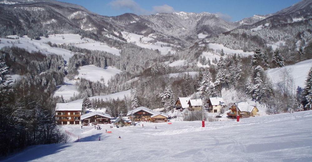 Pistenplan Skigebiet Granier en Chartreuse