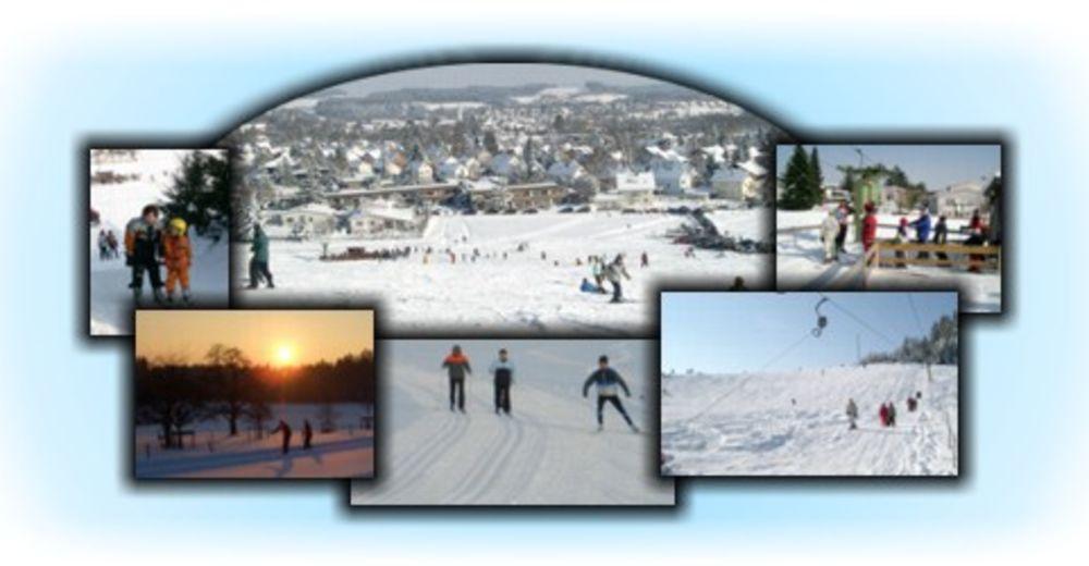 Pistenplan Skigebiet Skilift Berger Höhe / Wangen