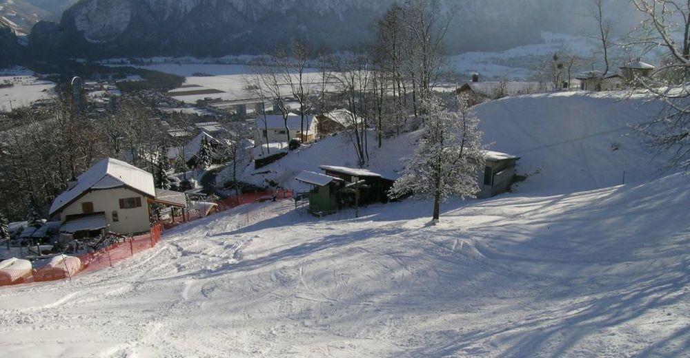 Pistplan Skidområde Skilift Mastrils