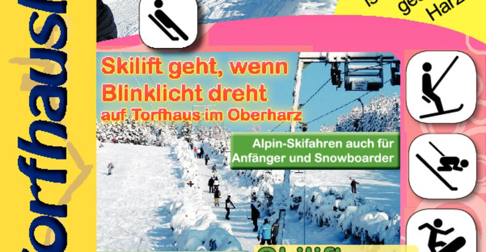 Bakkeoversikt Skiområde Torfhauslifte Altenau