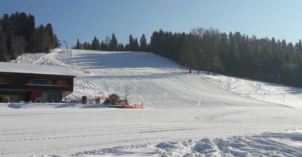 Plán sjezdovky Lyžařská oblast Hagenberg Sulzberg-Thal