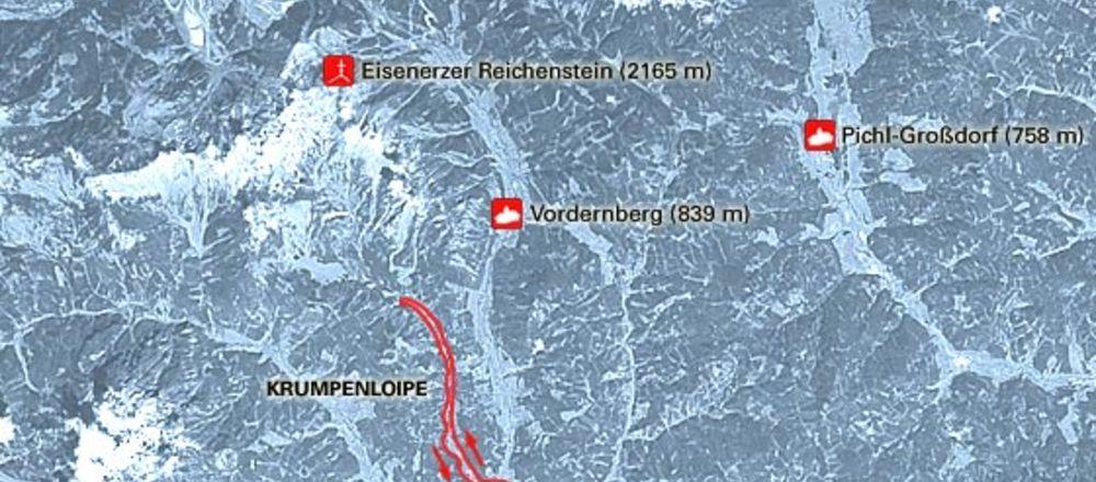 Loipenplan Trofaiach / Krumpenloipe