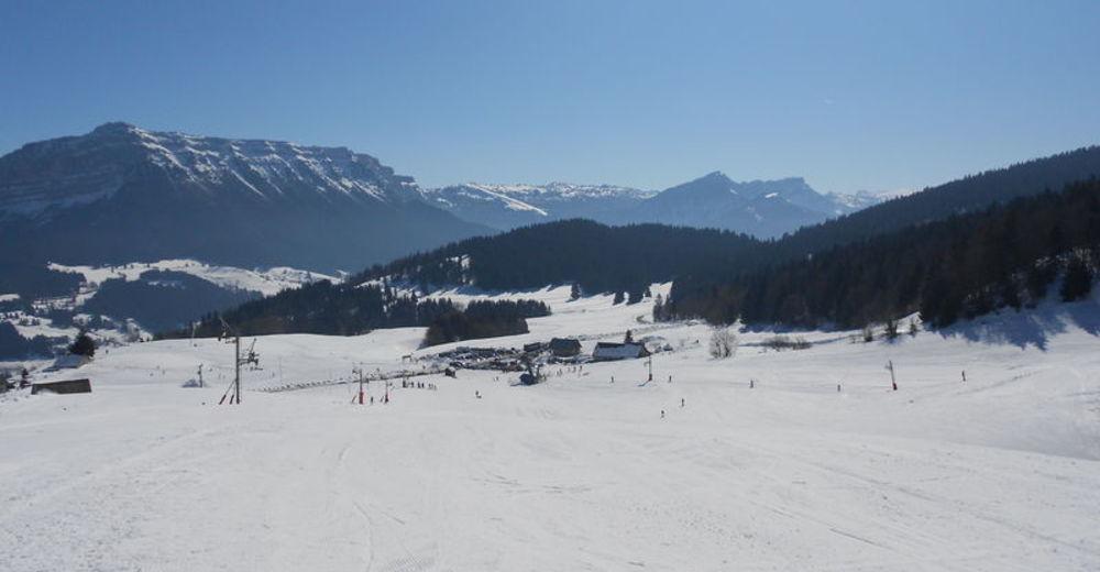 Pistenplan Skigebiet Le Désert d´Entremont