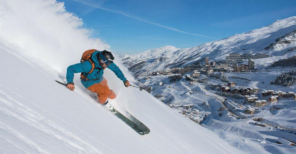 Pisteplan Skigebied Les Menuires / Les 3 Vallées