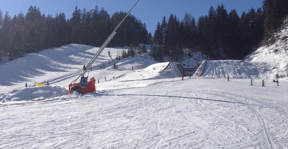 Plan de piste Station de ski Skilifte Knittel Elbigenalp