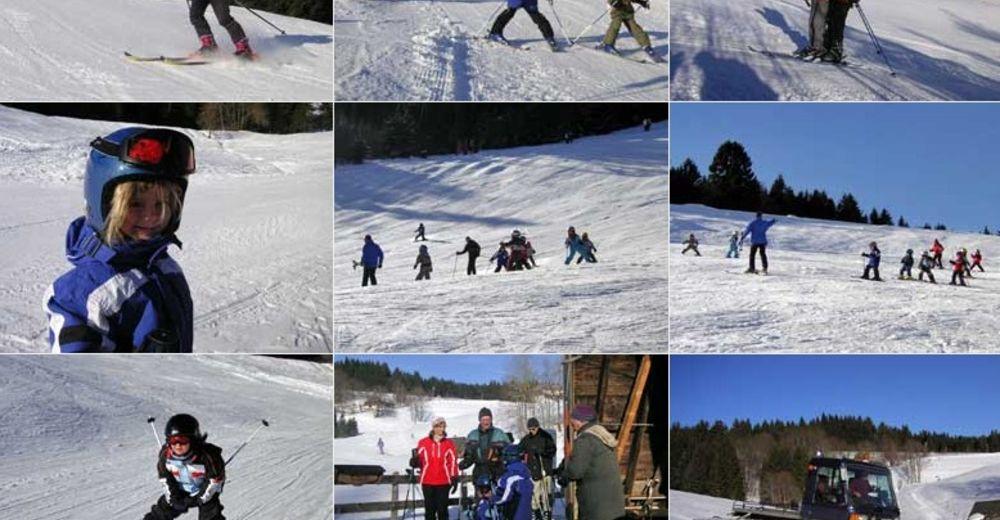 Plan skijaških staza Skijaško područje St. Georgen - Kesselberg
