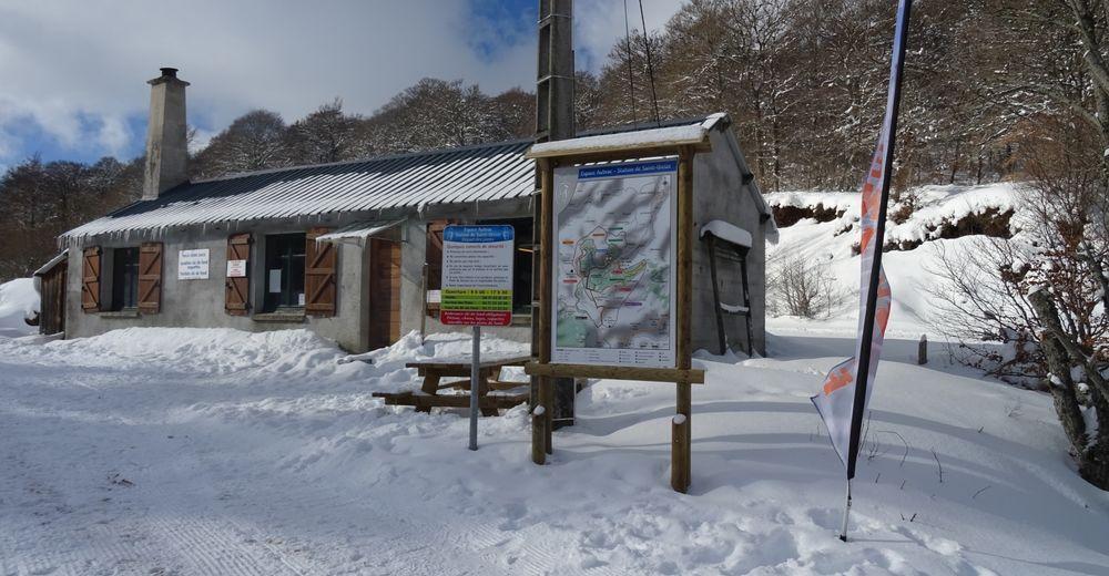 Pistenplan Skigebiet Saint-Urcize