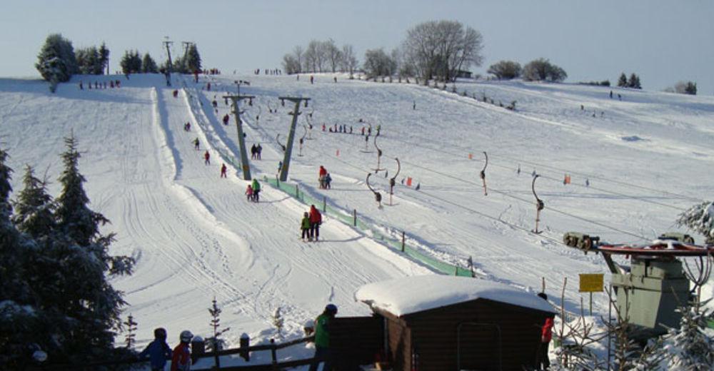 Pisteplan Skigebied Halde / Westerheim