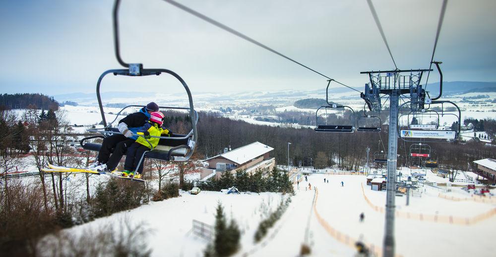 Pistplan Skidområde Monínec