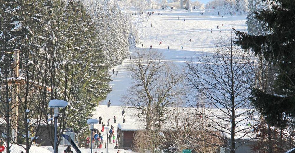 Plan skijaških staza Skijaško područje Erbeskopf - Thalfang