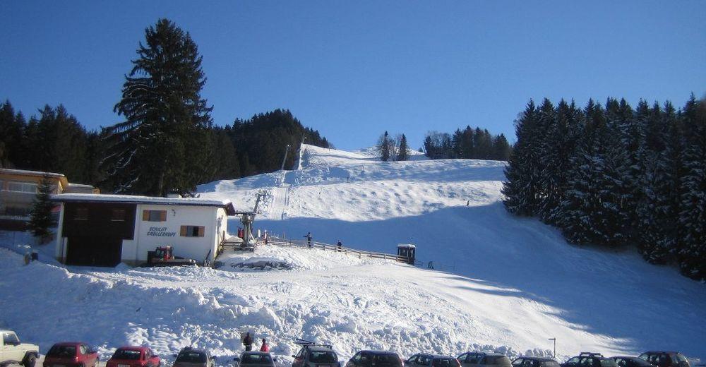 Pistplan Skidområde Schilifte Gröllerkopf / Übersaxen
