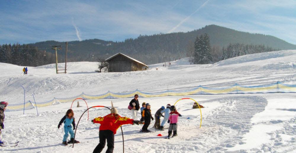 Pistenplan Skigebiet Skilift Neukirchen am Teisenberg / Berchtesgadener Land
