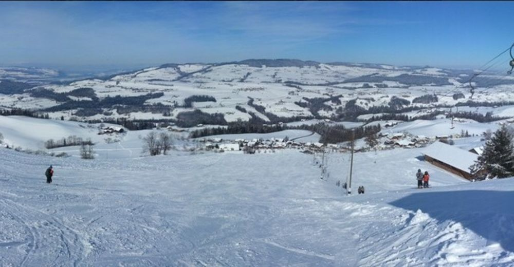 Rinnekartta Hiihtoalue Homberg / Skilift Dreiligass-Winteregg