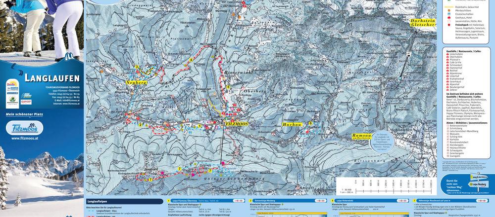 Loipenplan Filzmoos - Ski amade