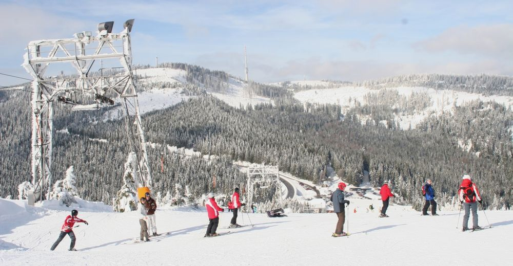 Pisteplan Skiområde Seibelseckle