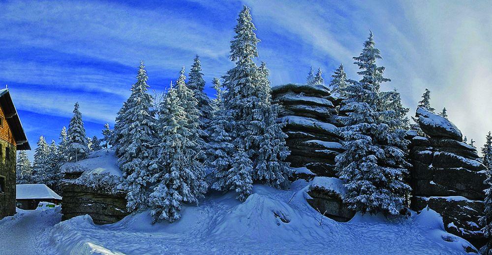 Pistenplan Skigebiet Dreisessel Frauenberg / Neureichenau