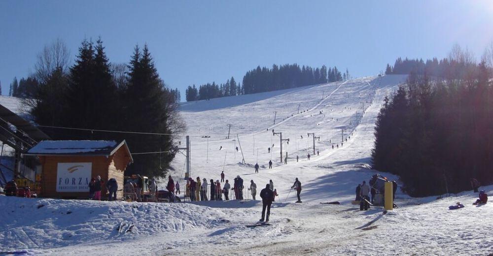 Mapa zjazdoviek Lyžiarske stredisko Ski Čierny Balog