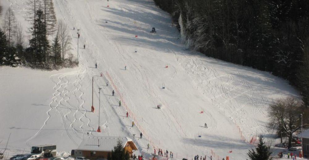Plan de piste Station de ski Luče